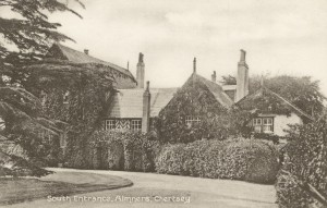 Almners, South entrance, early 1900s