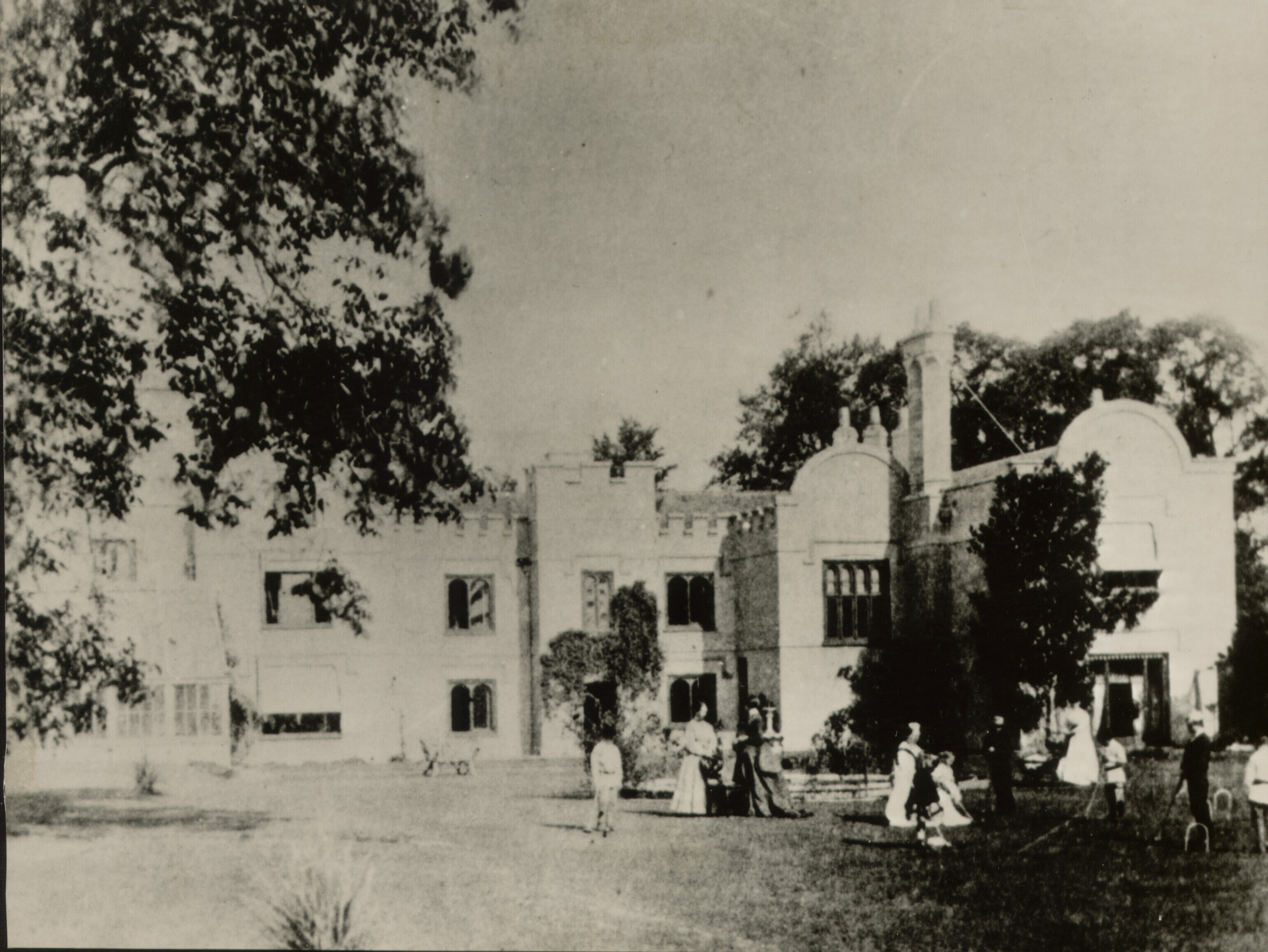 Sayes Court, when it was the home of Norman Payne, 1880s