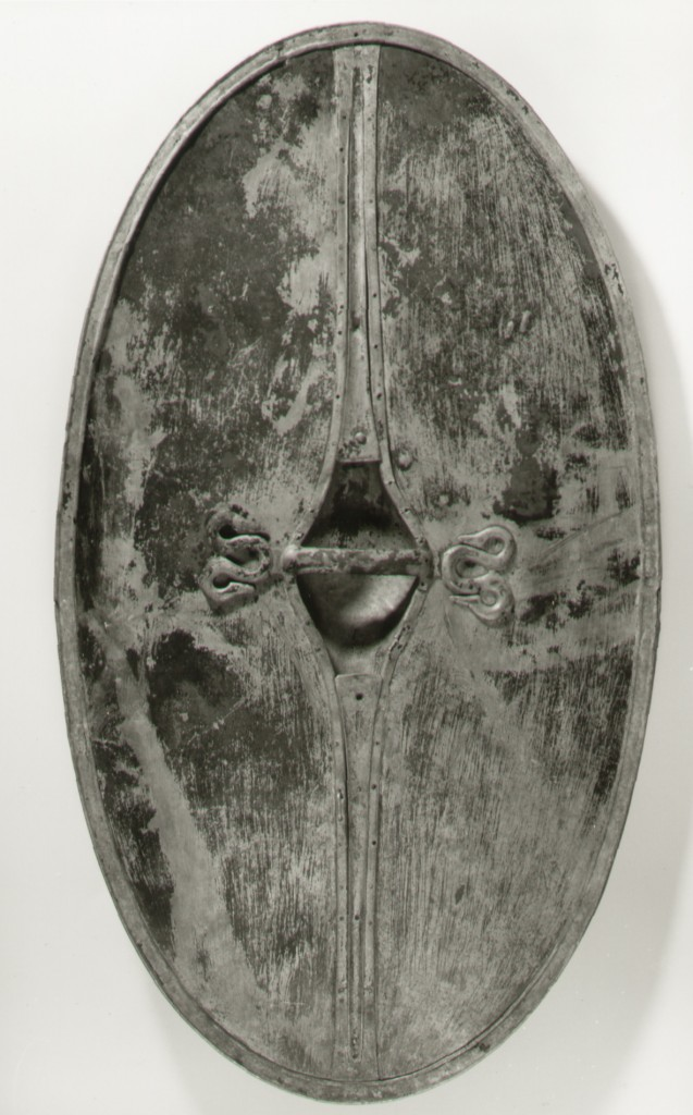 Chertsey shield - back view