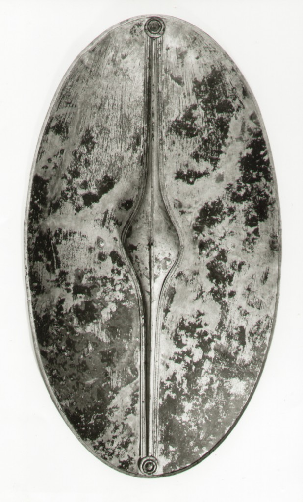 Chertsey shield - front view