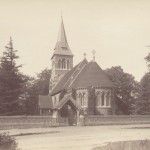 Christchurch (after the addition of the belfry),1885