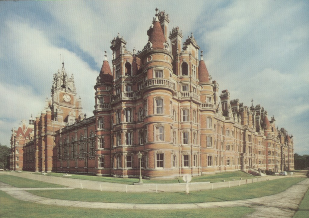 Royal Holloway College, Englefield Green, 1980s