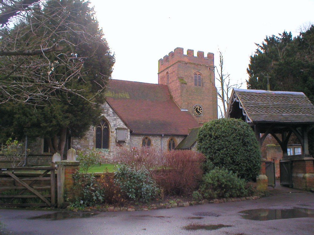 Thorpe Church, January 2006