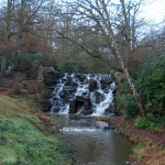 The cascade at Virginia Water, January 2006